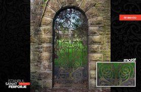 Ferforje Bahçe Kapısı