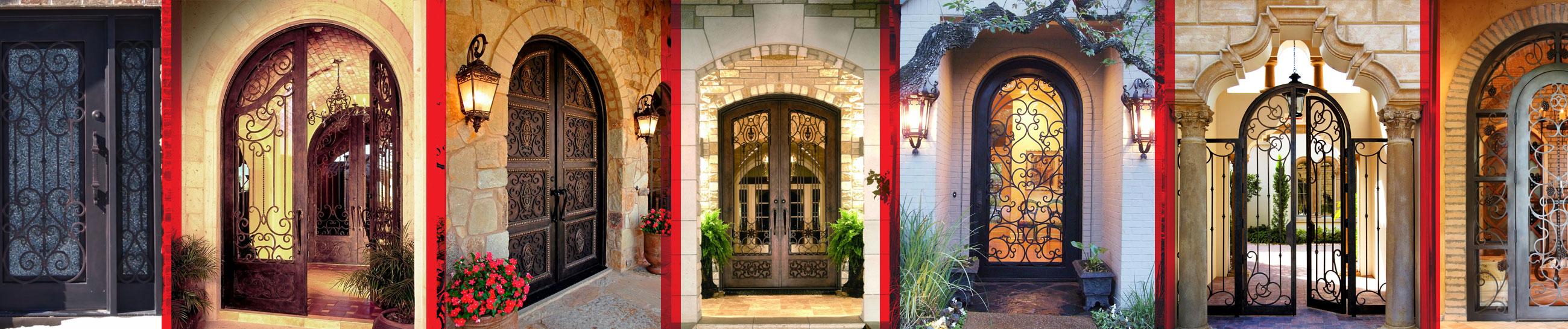 Villa ve Apartman Ferforje Demir Kapılar