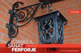 Ferforje Dövme Demir Bahçe Avize