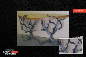 Wrought Iron Tree Patterned Dresuar