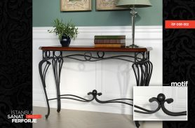Wrought Iron Black Iron Dresuar