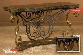 Wrought Iron Gold Dresuar