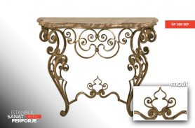 Wrought Iron Embroidered Dresuar