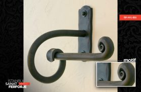 Wrought Iron Small Towel Holder