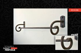 Wrought Iron Towel Holder