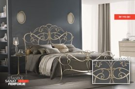 Wrought Iron Light Bed