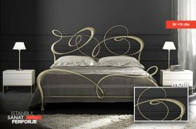 Wrought Iron Modern Bed