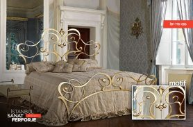 Wrought Iron Vintage Bed