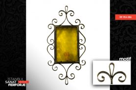 Wrought Iron Classic Mirror