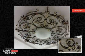 Istanbul Sanat Wrought Iron Special Chandelier