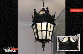 Istanbul Art Wrought Iron Chandelier
