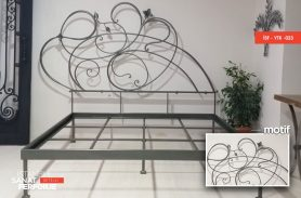 Special Design Wrought Iron Bed