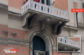 Sarıyer - Avusturya Başkonsolosluğu, Ferforje Döküm Balkon Korkuluğu Restorasyonu