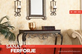 Wrought Iron Brown Dresuar