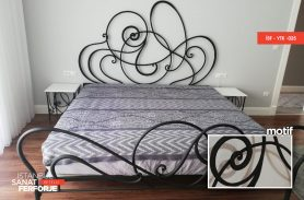 Modern Designed Wrought Iron Bed
