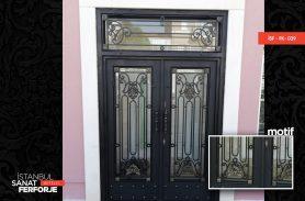 İki Kapılı Ferforje Kapı