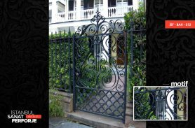 Wrought Iron Wrought Iron Garden Gate