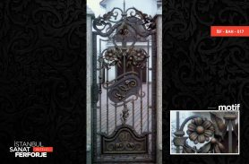 Classic Wrought Iron Garden Gate