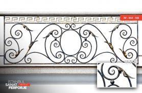 Versace Desen Ferforje Balkon Korkuluğu