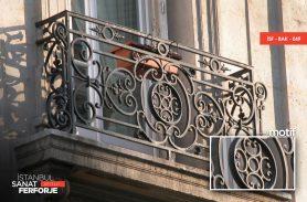 Klasik Ferforje Balkon Korkuluğu