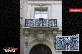 Heavy Workmanship Wrought Iron Balcony Railing