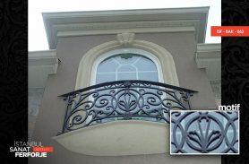 Sarmaşık Desenli Balkon Korkuluğu