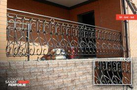Sık Desenli Villa Balkon Korkuluğu