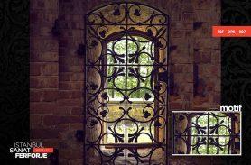 Wrought Iron Window Railing