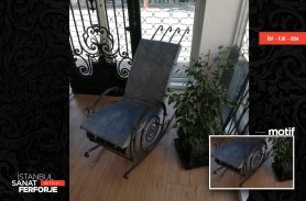 Rocking Wrought Iron Armchair