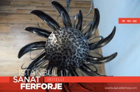 Wrought Iron Flower Accessory