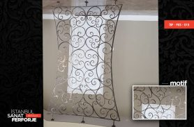 Wrought Iron Motif Accessories