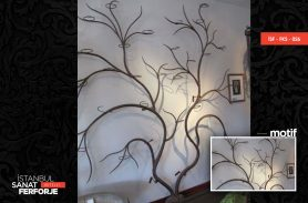 Wrought Iron Wood Accessory
