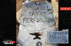 İstanbul Sanat Ferforje Kağıt Görünümlü Aksesuar