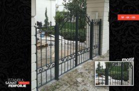 İki Kapılı Ferforje Garaj Kapısı