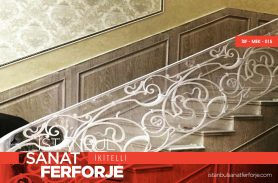 Cast Iron Wrought Iron Stair Railing