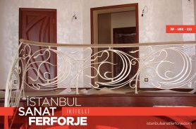White, Modern, 2020 Wrought Iron Stair Railing