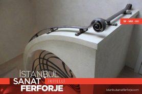 Modern Tasarım Ferforje Merdiven Korkuluğu