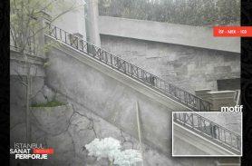 Paralel Yapılı Ferforje Merdiven Korkuluğu