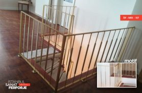 Mızrak Modelli Ferforje Merdiven Korkuluğu