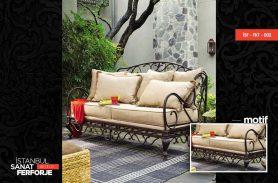 Classic Wrought Iron Sofa Set