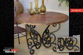 Tumbled Pattern, Stylish, 2020 Wrought Iron Table