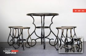 Classic Wrought Iron Chairs and Tables