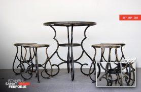Klasik Ferforje Sandalye ve Masalar
