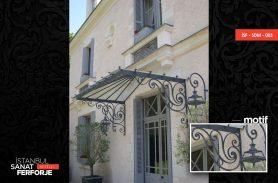 Modern Wrought Iron Porch