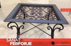 Modern, 2020 Wrought Iron Coffee Table