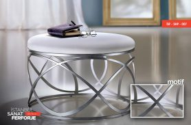 Metal Color Wrought Iron Coffee Table