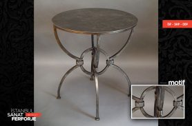 Small Wrought Iron Coffee Table
