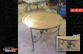 Sini Design Wrought Iron Coffee Table
