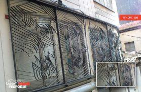 Karaköy/Perşebe Pazarı Ferforje Paravan Pencere Korkuluk