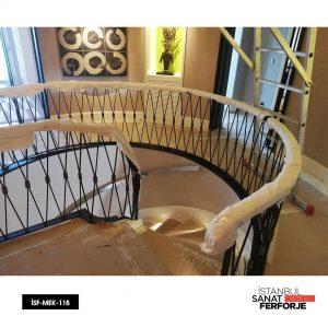 Ferforje Merdiven Korkuluğu yapım aşaması;